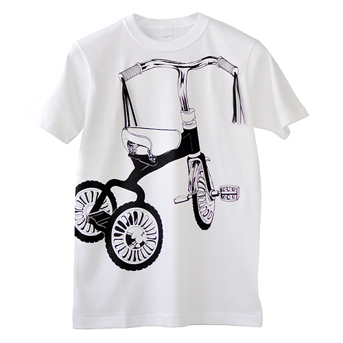 Photo1: SHIKISAI [Tricycle] T-shirt (1)