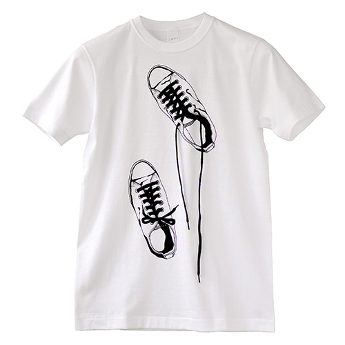Photo1: SHIKISAI [Canvas Shoes] T-shirt (1)