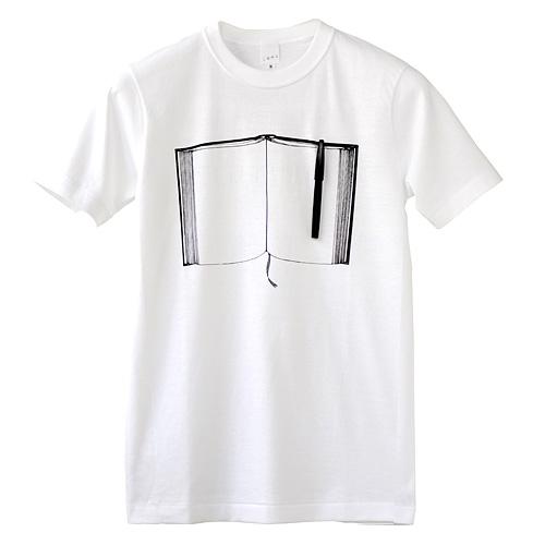 Photo1: SHIKISAI [Pen&Note] T-shirt (1)
