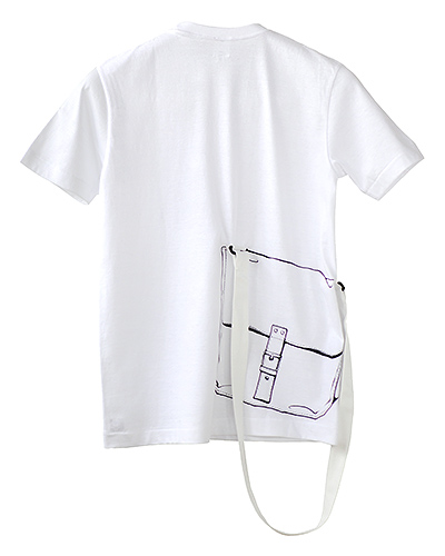 Photo1: SHIKISAI [Shoulder Bag] T-shirt (1)