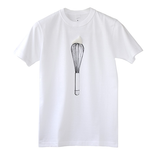 Photo1: SHIKISAI [Whisk] T-shirt (1)